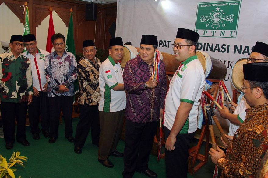 Rapat Koordinasi LPTNU di kantor PBNU Kramat Raya Jakarta