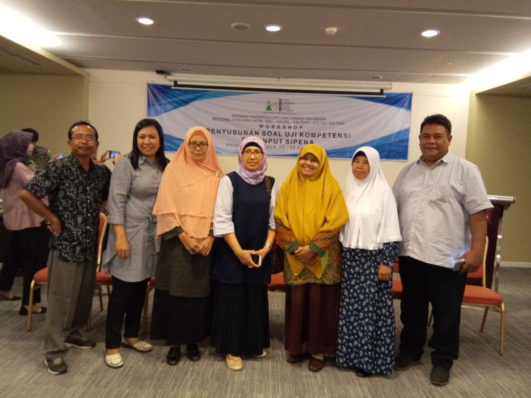 Workshop Penyusunan Soal Uji Kompetensi Dan Input Soal Di Sipena