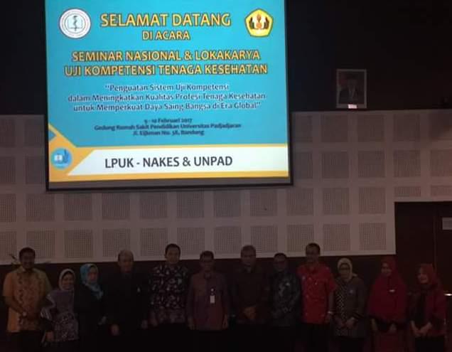 AKAFARMA Mengahadiri Seminar dan Lokakarya Uji Kompetensi di UNPAD Bandung