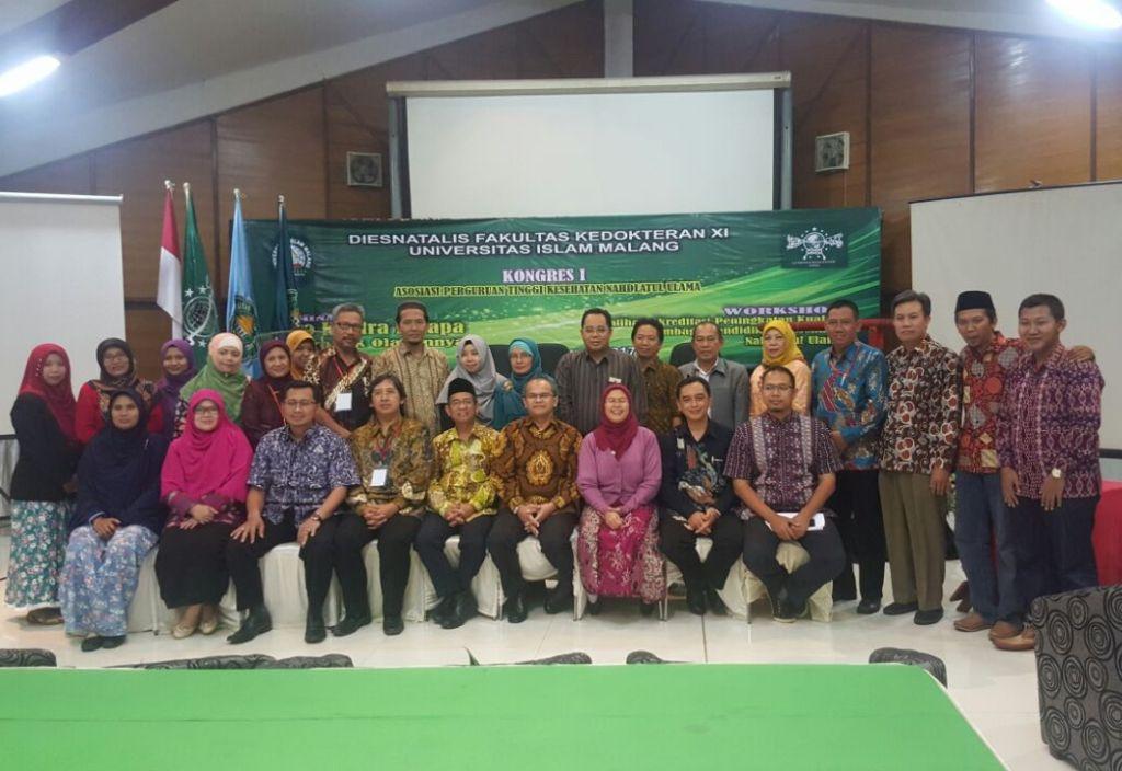 Konggres I Asosiasi Perguruan Tinggi Kesehatan NU di UNISMA Malang