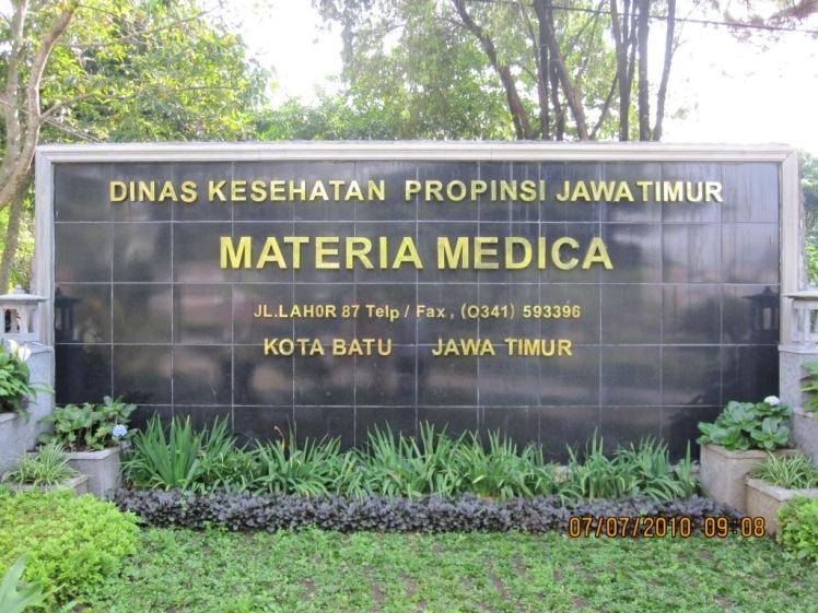 PKL di Materia Medika Indonesia (MMI)  Batu