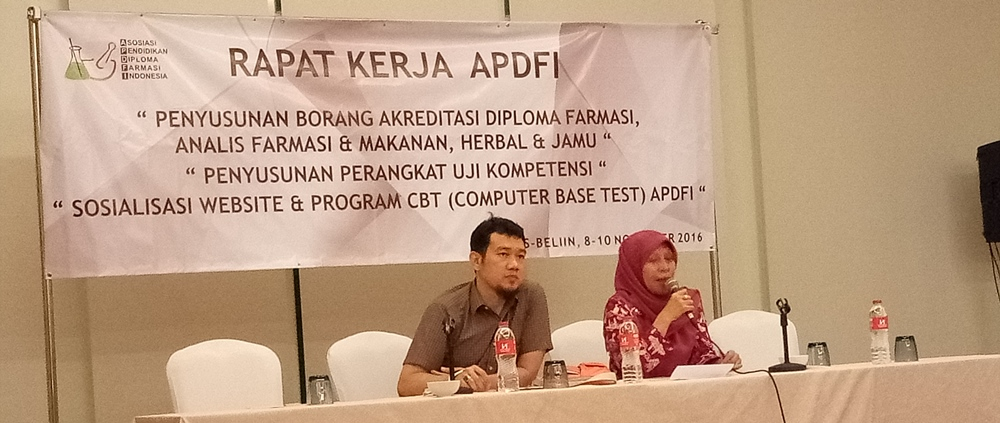 Rapat Kerja APDFI di Hotel Swiss-bellin Jakarta