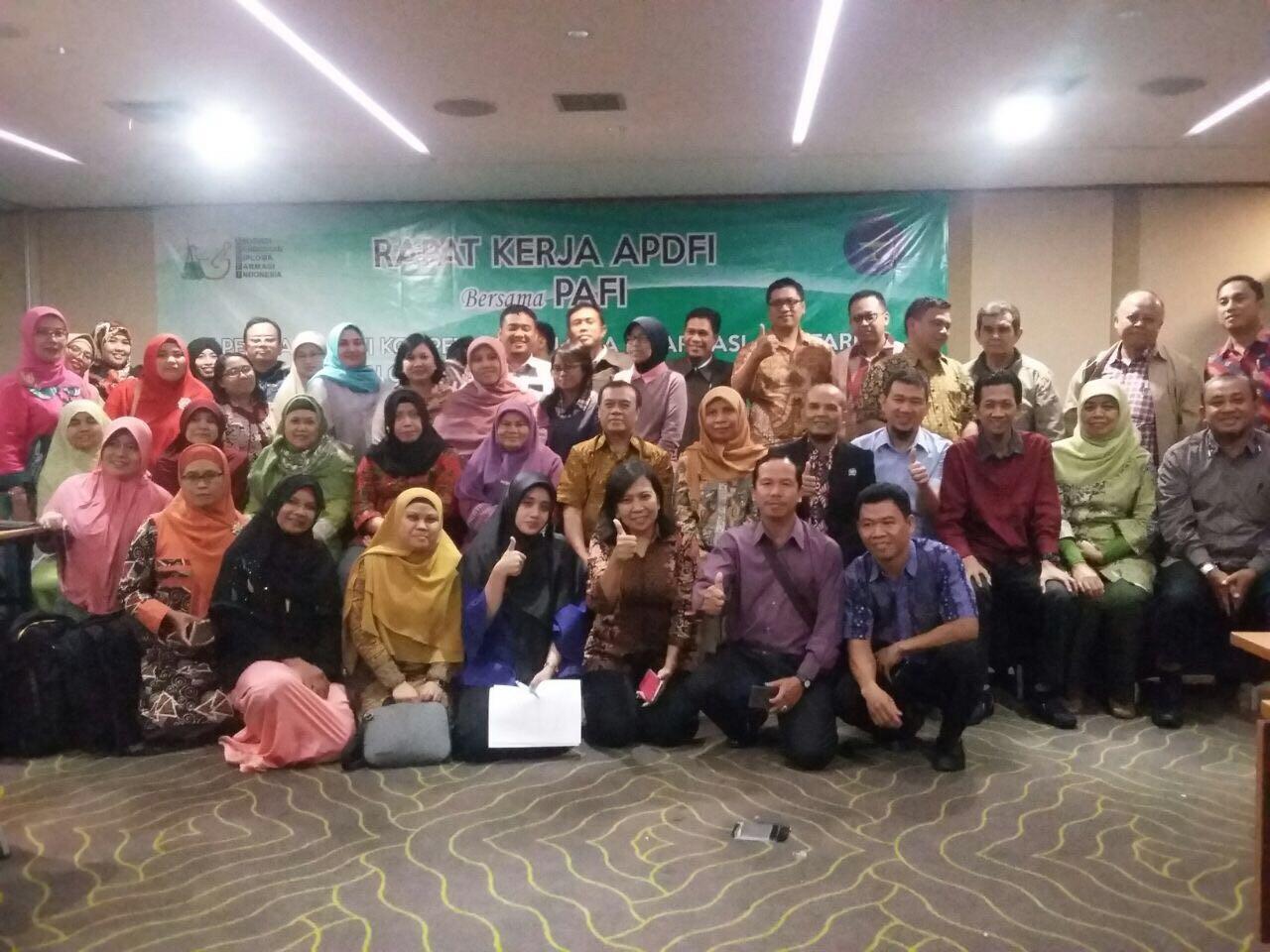 Rapat Kerja APDFI di Jakarta terkait Pesiapan Uji Kompetensi