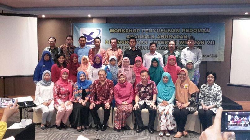 Workshop Pedoman Akademik KOPERTIS VII Jawa Timur